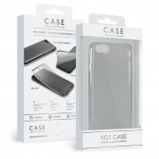 Case FortyFour No.1 Case - силиконов (TPU) калъф за iPhone SE (2020), iPhone 8, iPhone 7 (прозрачен)
