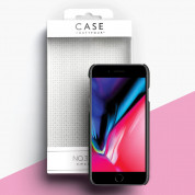 Case FortyFour No.3 Case - поликарбонатов кейс за iPhone SE (2020), iPhone 8, iPhone 7 (черен) 2