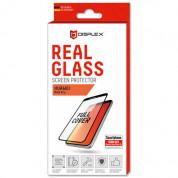 Displex Real Glass 10H Protector 3D Full Cover - калено стъклено защитно покритие за дисплея на Huawei P40 Pro, P40 Pro Plus (черен-прозрачен)