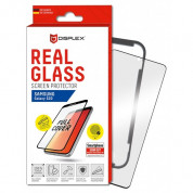 Displex Real Glass 10H Protector 3D Full Cover FPS for Samsung Galaxy S20, Galaxy S20 5G (black)