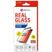 Displex Real Glass 10H Protector 3D Full Cover FPS for Samsung Galaxy S20 Plus, Galaxy S20 Plus 5G (black)