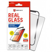 Displex Real Glass 10H Protector 3D Full Cover FPS for Samsung Galaxy S20 Ultra (black) 1