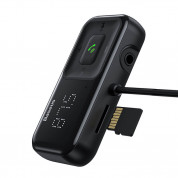 Baseus T-Typed S-16 Wireless MP3 Car Charger (black) 2