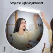 Baseus Sunshine Series Stepless Dimmer Mirror Light - нощна LED лампа (бяла светлина) 10