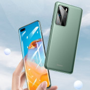 Baseus Wing case - тънък полипропиленов кейс (0.45 mm) за Huawei P40 Pro (зелен) 2