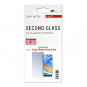 4smarts Second Glass 2.5D for Xiaomi Redmi Note 9 Pro (clear) 1