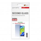 4smarts Second Glass 2.5D - калено стъклено защитно покритие за дисплея на Xiaomi Redmi Note 9 (прозрачен) 1