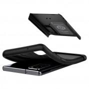 Spigen Slim Armor Case - хибриден кейс с най-висока степен на защита за Samsung Galaxy Note 20 (черен) 1