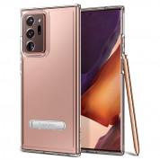 Spigen Ultra Hybrid S Case - хибриден кейс с висока степен на защита за Samsung Galaxy Note 20 Ultra (прозрачен)