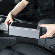 Baseus Deluxe Metal Armrest Console Organizer (Dual USB Power Supply) (silver) 8