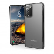 Urban Armor Gear Plyo Case - удароустойчив хибриден кейс за Samsung Galaxy Note 20 (прозрачен)
