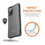 Urban Armor Gear Plyo Case - удароустойчив хибриден кейс за Samsung Galaxy Note 20 (прозрачен) 4