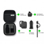 iOttie iTap Mini Travel Kit (includes Mount, MFi Lightning USB Cable & Charger) 8