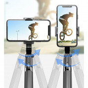 Gimbal Stabilizer Selfie Stick Tripod L08 for mobile phones (white) 16