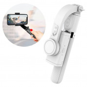 Gimbal Stabilizer Selfie Stick Tripod L08 for mobile phones (white)