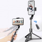 Gimbal Stabilizer Selfie Stick Tripod L08 for mobile phones (white) 12