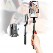 Gimbal Stabilizer Selfie Stick Tripod L08 for mobile phones (white) 17