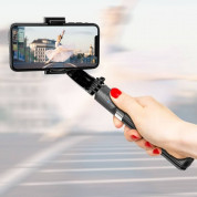 Gimbal Stabilizer Selfie Stick Tripod L08 for mobile phones (white) 1