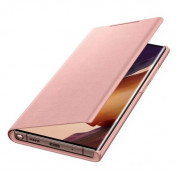 Samsung LED View Cover EF-NN985PAEGEU for Samsung Note 20 Ultra (copper brown) 3