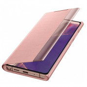 Samsung Clear View Cover EF-ZN980CAEGEU for Samsung Galaxy Note 20 (copper brown) 3