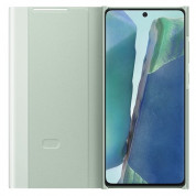 Samsung Clear View Cover EF-ZN980CMEGEU for Samsung Galaxy Note 20 (mint) 2