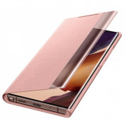 Samsung Clear View Cover EF-ZN985CAEGEU for Samsung Galaxy Note 20 Ultra (copper brown) 3