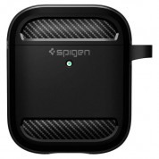 Spigen Rugged Armor Case for Apple Airpods & Apple Airpods 2 (black) 2