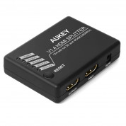 AUKEY HA-H02 1x4-Port HDMI V1.4 Amplifier Splitter w/3D and 4Kx2K Support - HDMI сплитер от един към 4ри дисплея с HDMI 1