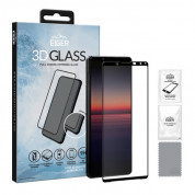 Eiger 3D Glass Edge to Edge Full Screen Tempered Glass for Sony Xperia 1 II (black-clear)