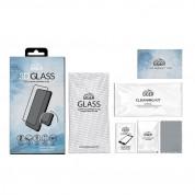 Eiger 3D Glass Edge to Edge Full Screen Tempered Glass - калено стъклено защитно покритие с извити ръбове за целия дисплея на OnePlus 8 Pro (черен-прозрачен) 1