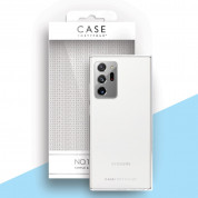 Case FortyFour No.1 Case - силиконов (TPU) калъф за Samsung Galaxy Note 20 Ultra (прозрачен)