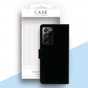 Case FortyFour No.11 Case - кожен калъф с поставка за Samsung Galaxy Note 20 Ultra (черен) 1