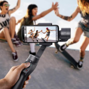 Baseus 3-Axis Gimbal Stabilizer for photos and video recording for iOS and Android  - уникален захващащ стабилизатор за смартфони 9