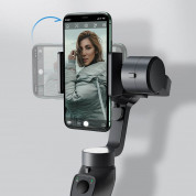 Baseus 3-Axis Gimbal Stabilizer for photos and video recording for iOS and Android  - уникален захващащ стабилизатор за смартфони 6