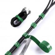 Baseus Rainbow Circle Velcro Strap (300 cm) (green) 6