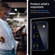 Spigen Optik Lens Protector - 2 броя предпазни стъклени протектори за камерата на Samsung Galaxy Note 20 Ultra  (черен) 5