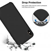 Vennus Silicone Case Lite - силиконов (TPU) калъф за Samsung Galaxy A21s (черен) 6