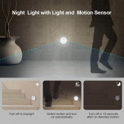 TeckNet LED08 3-Pack Motion Sensor LED Night Light 4