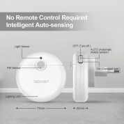 TeckNet LED08 3-Pack Motion Sensor LED Night Light 1