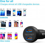 TeckNet Quick Charge 3.0 Car Charger (black) 5