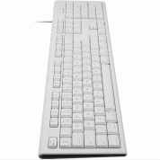 Macally 105 Key Extended Keyboard With Numpad - USB клавиатура оптимизирана за MacBook (бял)  3