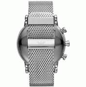 Emporio Armani ART3007 Connected Wrist Watch with Stainless Steel - луксозен умен часовник (сребрист) 1