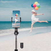Baseus Lovely Uniaxial Bluetooth Folding Stand Gimbal Tripod Selfie Stick (black) 14