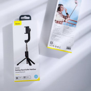Baseus Lovely Uniaxial Bluetooth Folding Stand Gimbal Tripod Selfie Stick (black) 16