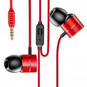 Baseus Encok Wired Earphones H04 for mobile phones (red)