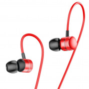 Baseus Encok Wired Earphones H04 for mobile phones (red) 1