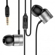 Baseus Encok Wired Earphones H04 for mobile phones (silver)