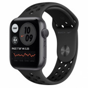 Apple Watch Nike Series 6 GPS, 44mm Space Gray Aluminium Case with Anthracite/Black Nike Sport Band - умен часовник от Apple