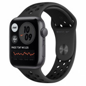 Apple Watch Nike SE GPS, 44mm Space Gray Aluminium Case with Anthracite/Black Nike Sport Band - умен часовник от Apple