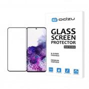 Odzu 3D Edge to Edge Tempered Glass Screen Protector - калено стъклено защитно покритие за дисплея на Samsung Galaxy S20 (прозрачен) 1